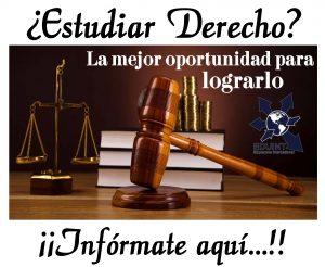 derecho estudiar